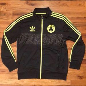 Adidas Men's Boston Celtics Track Jacket